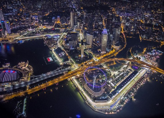 The Podium Lounge Celebrates 10 Consecutive Year Over the 2018 Singapore F1 Weekend
