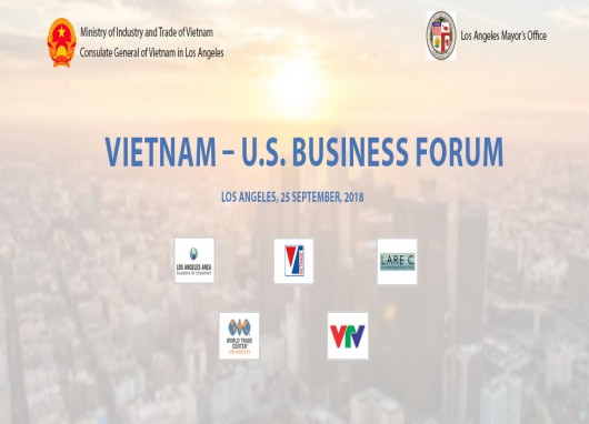 The VIETNAM - U.S Business Forum 2018