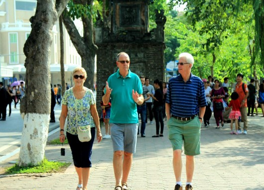 International visitors to Viet Nam in July and 7 months of 2018